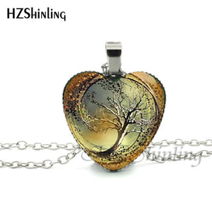Heart-Tree Necklace