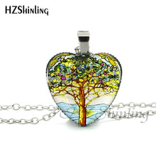 Load image into Gallery viewer, Heart-Tree Necklace