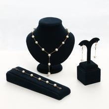 Load image into Gallery viewer, Brand New !  Pearl Jewelry Set