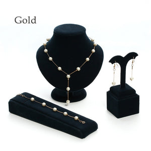 Brand New !  Pearl Jewelry Set