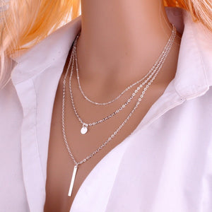 3 Layers Chain Necklace