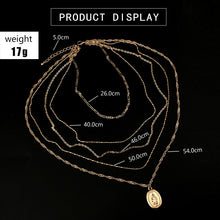 Load image into Gallery viewer, Bohemian layered Necklace