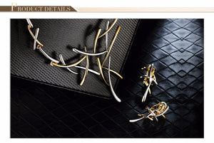 Viennois branches d'arbres Jewelry Set