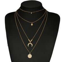 Load image into Gallery viewer, Bohemian Moon Necklace