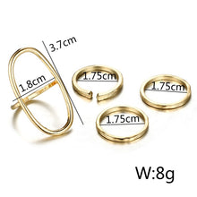 Load image into Gallery viewer, Women's Fashion Simple Style Ring Set
