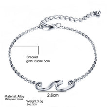 Load image into Gallery viewer, Wave Anklet Bracelet