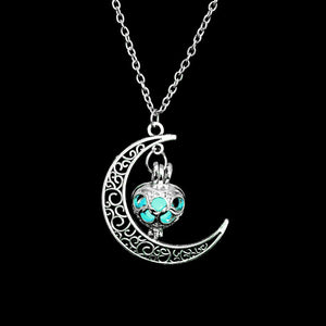 Hot Moon Necklace