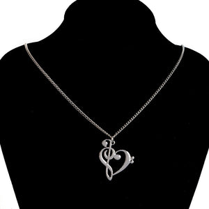 Music Love Symbol Necklace