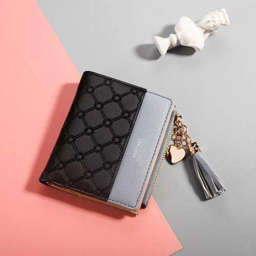 Abbie Wallet Black - Pursh Collection