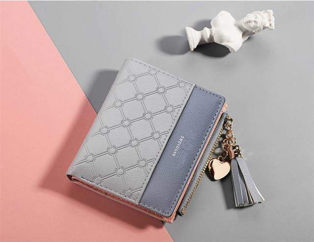Abbie Wallet Gray - Pursh Collection