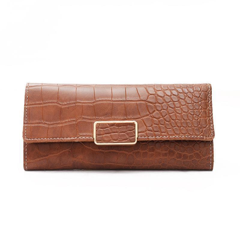 Allie Wallet Brown - Pursh Collection
