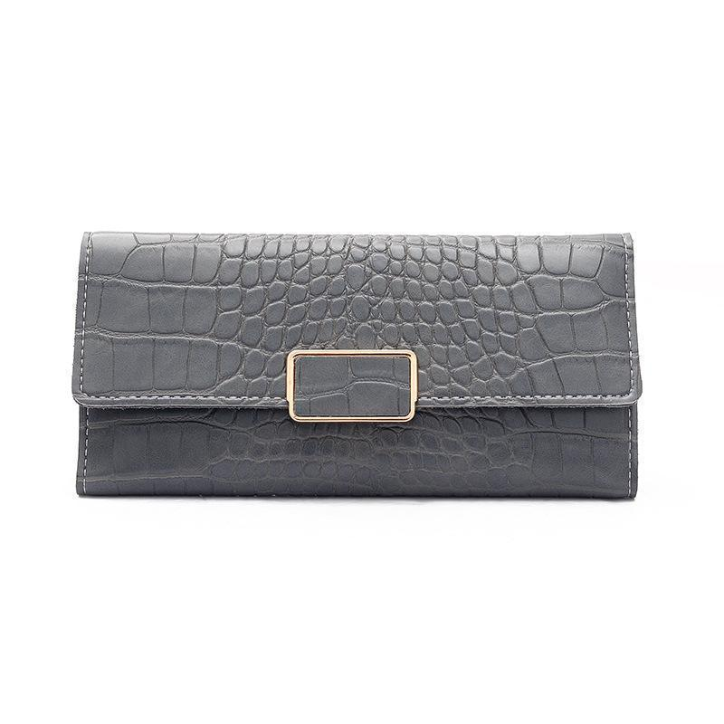 Allie Wallet Gray - Pursh Collection