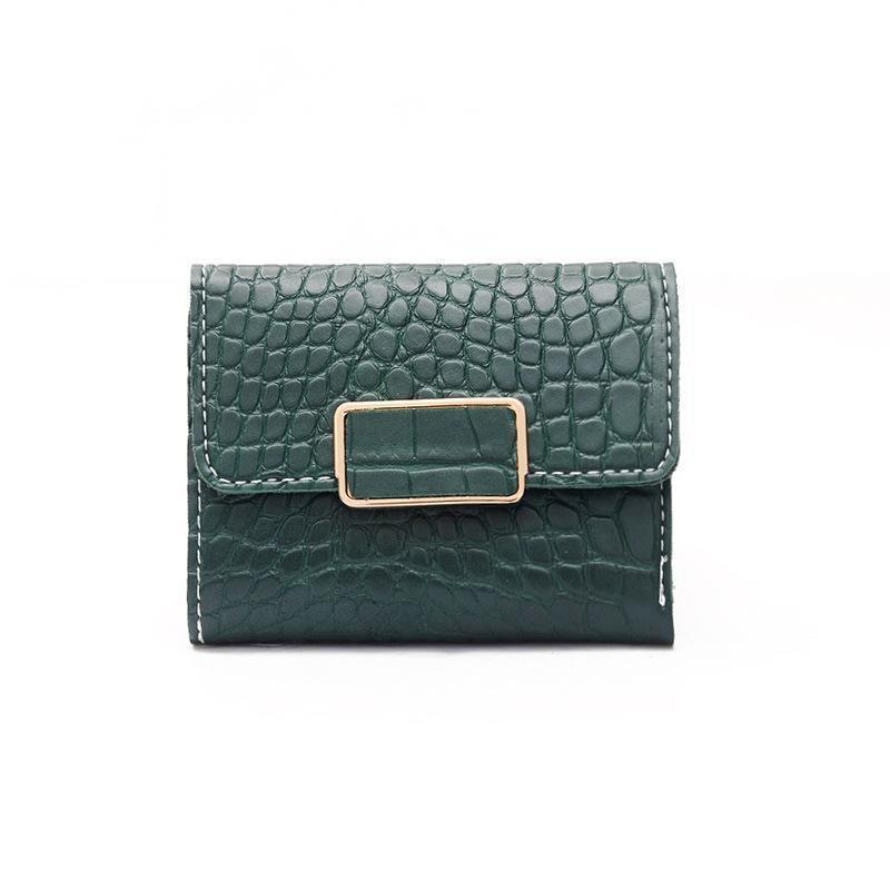 Allie Wallet Green - Pursh Collection