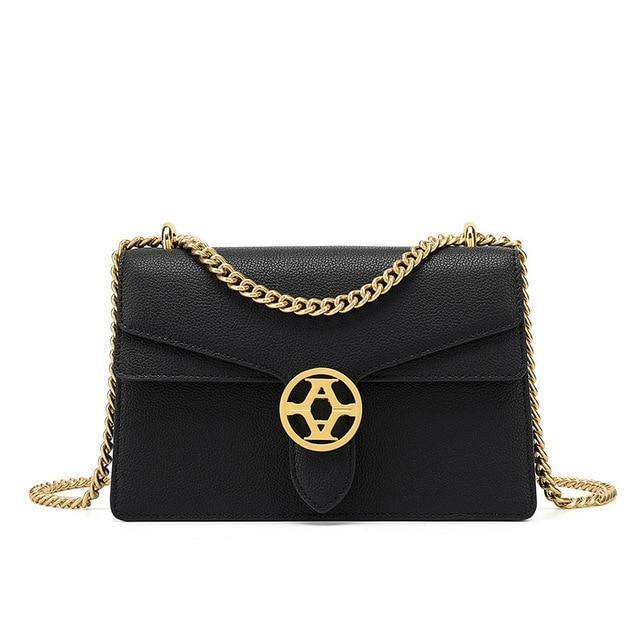 Amalia Purse Hepburn Black - Pursh Collection