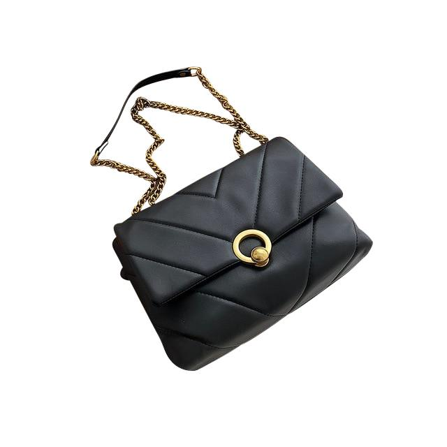Amara Purse Midnight Black - Pursh Collection