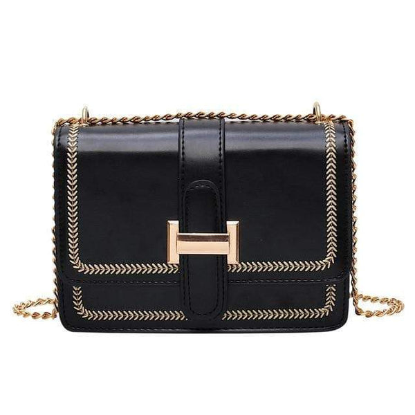 Arianne Purse Midnight Black - Pursh Collection
