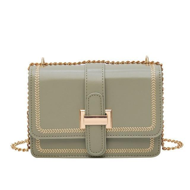 Arianne Purse Olive Green - Pursh Collection