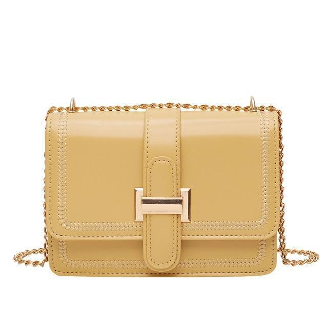Arianne Purse Pale Honey Yellow - Pursh Collection