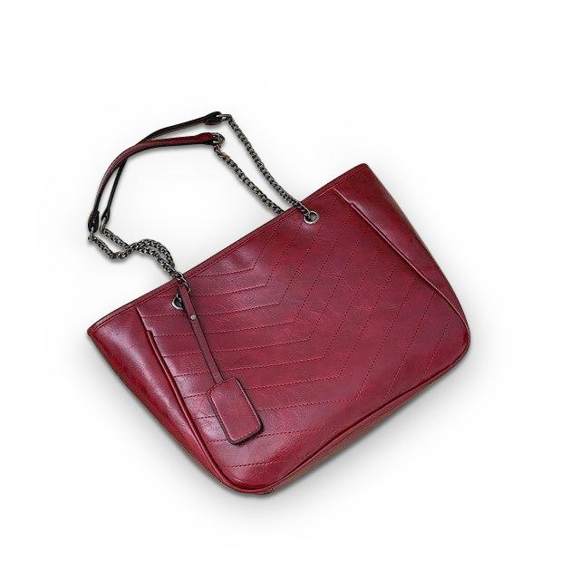 Barbara Purse Burgundy - Pursh Collection