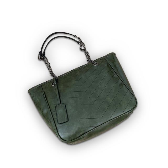 Barbara Purse Green - Pursh Collection