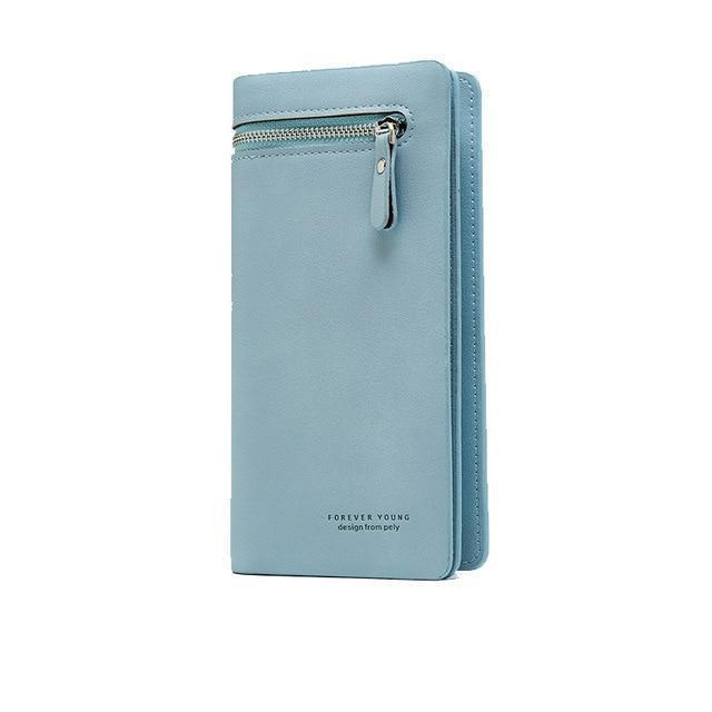 Bay Wallet Blue - Pursh Collection