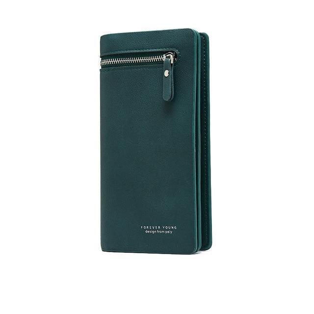 Bay Wallet Green - Pursh Collection