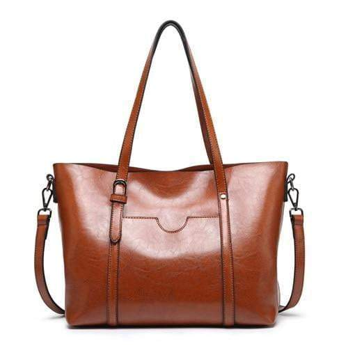 Boss Lady Purse Brown - Pursh Collection
