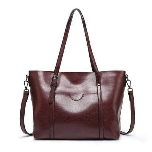 Boss Lady Purse Dark red - Pursh Collection