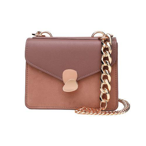 Brenna Purse Mauve (Rose Gold) - Pursh Collection