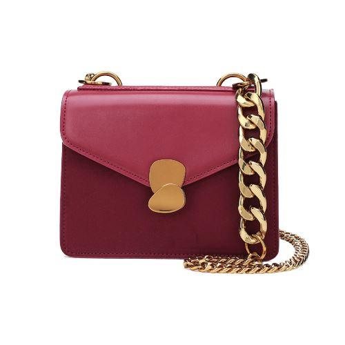 Brenna Purse Ruby (Gold) - Pursh Collection