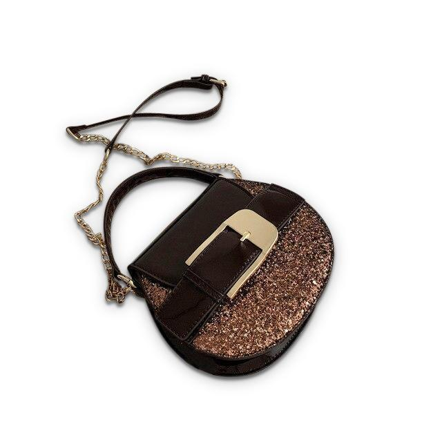 Buckley Purse Chocolate Sparkles - Pursh Collection