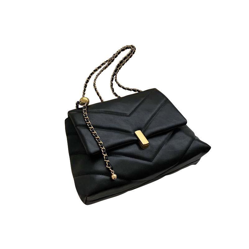 Camille Purse Midnight Black - Pursh Collection