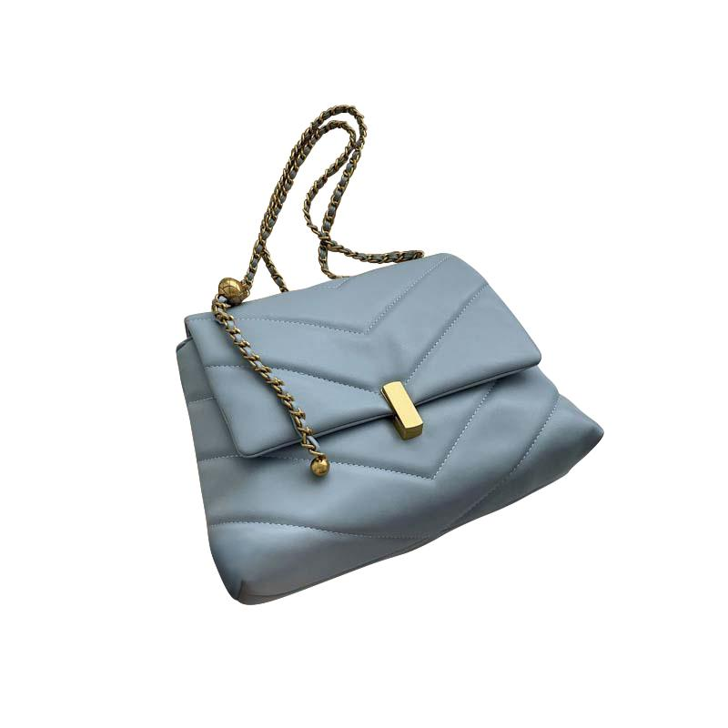 Camille Purse Sky Blue - Pursh Collection