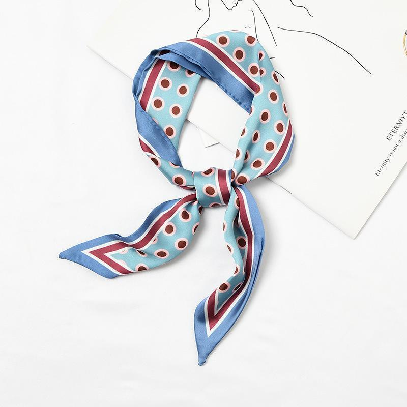Dottie Accessory Blue/Pomegranate - Pursh Collection