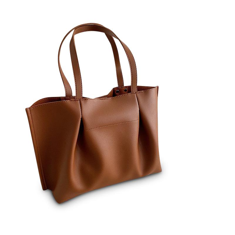 Elaine Purse Caramel Brown - Pursh Collection