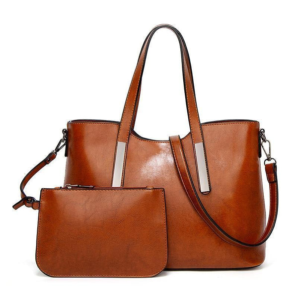 Fabiana Purse Brown - Pursh Collection