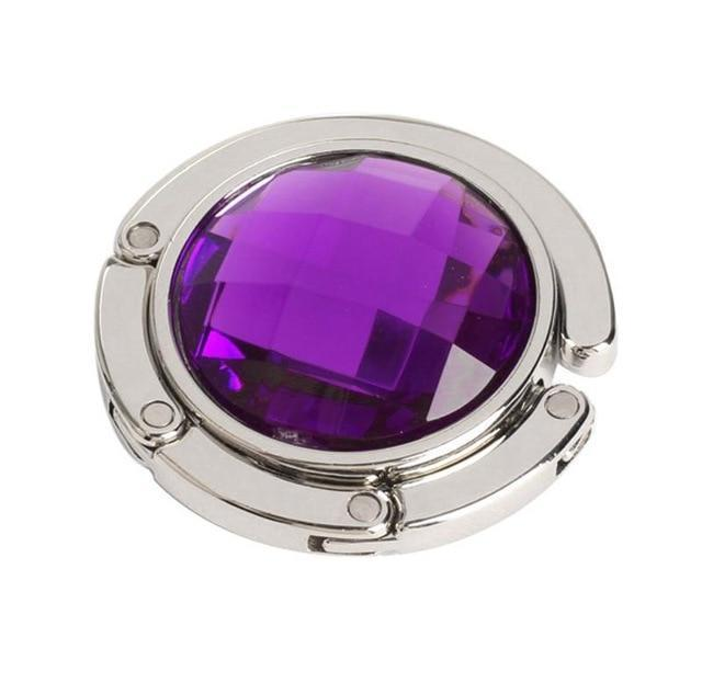 Gem Bag Hook Accessory Purple - Pursh Collection