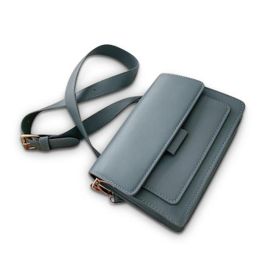 Georgina Purse Air Force Blue - Pursh Collection