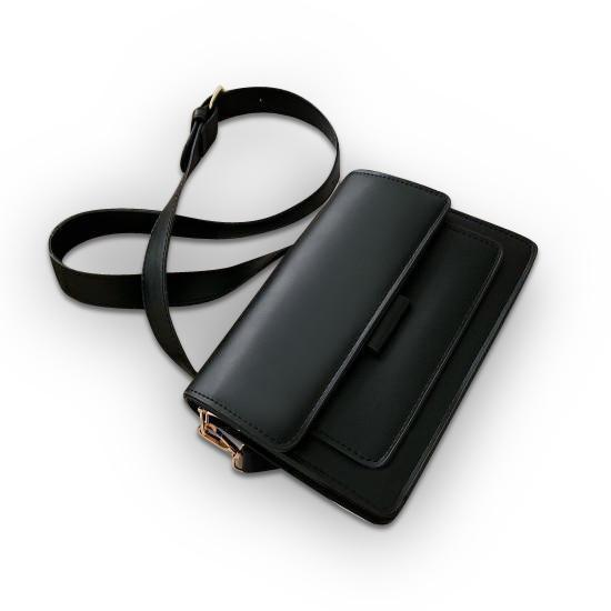 Georgina Purse Black - Pursh Collection