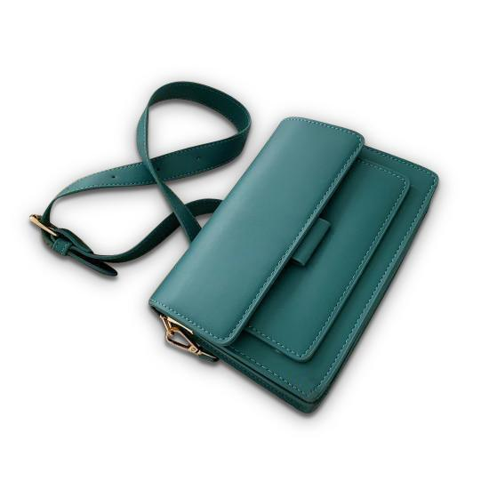 Georgina Purse Teal - Pursh Collection
