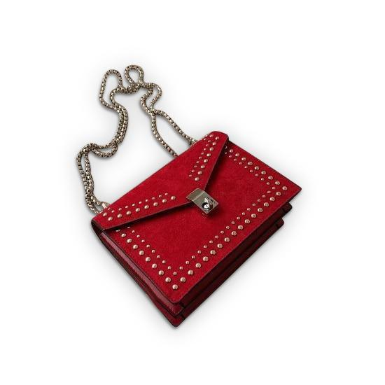 Jeannie Purse Red - Pursh Collection