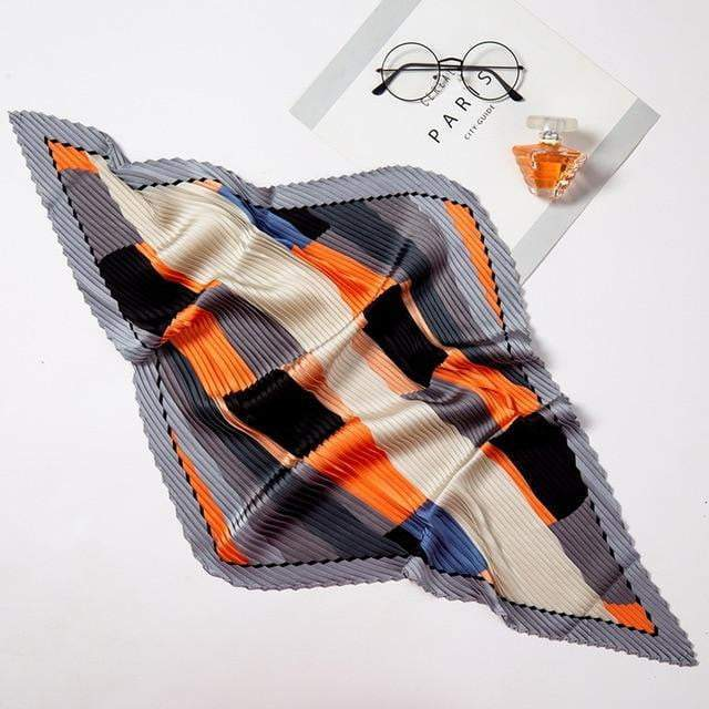 Jilly Accessory Gray/Orange - Pursh Collection