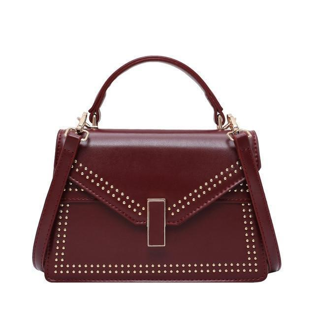 Jolie Purse Merlot Red - Pursh Collection