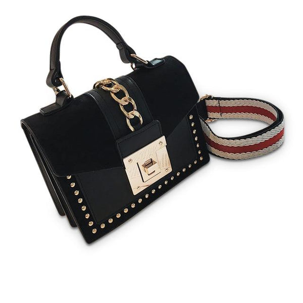 Josephina Purse Black - Pursh Collection