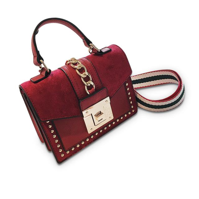 Josephina Purse Red - Pursh Collection