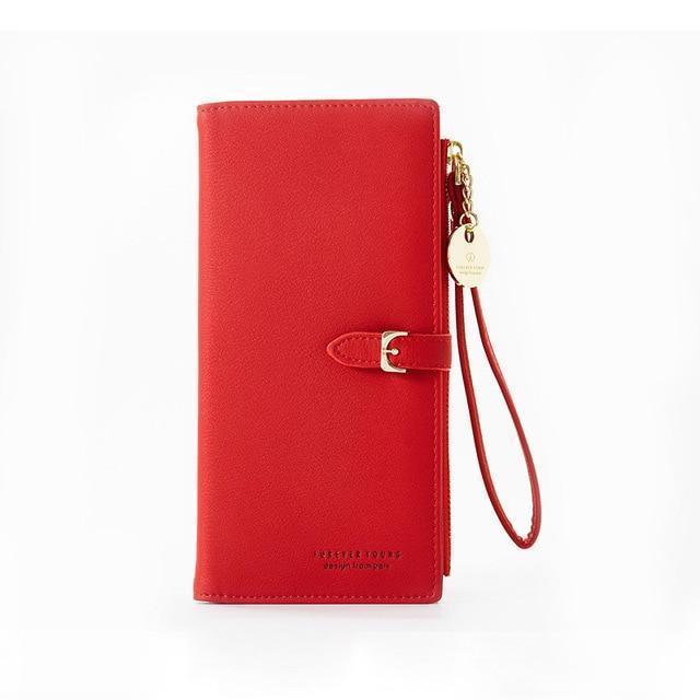 Juno Wallet Red - Pursh Collection