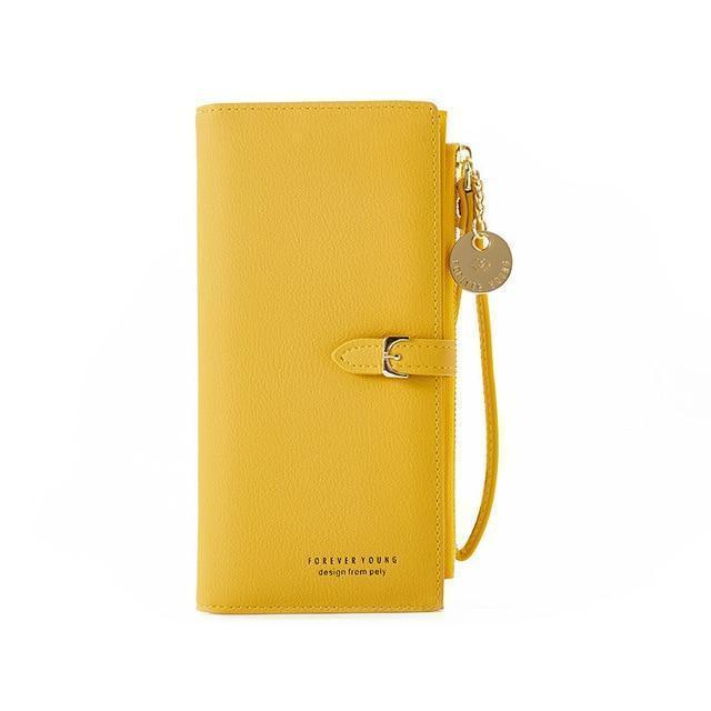 Juno Wallet Yellow - Pursh Collection