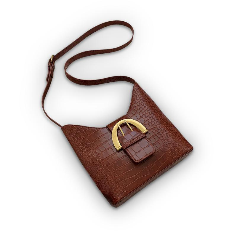 Laure Purse Cinnamon Brown - Pursh Collection
