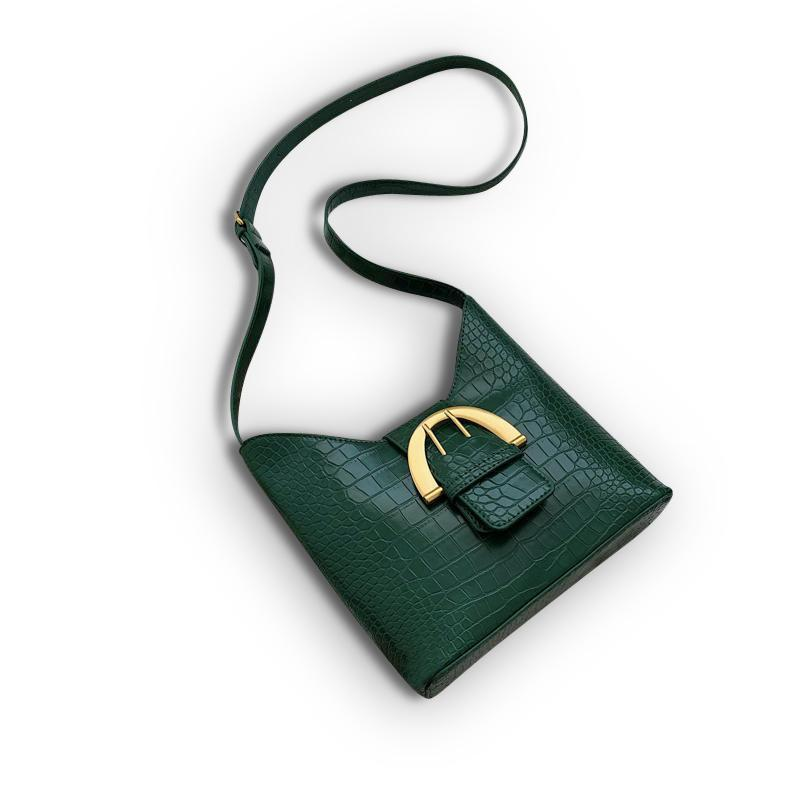 Laure Purse Pine Green - Pursh Collection