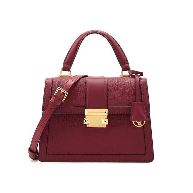 Lucille Purse Anna Red - Pursh Collection